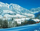 miniatura Alpbach in Tirol im Winter