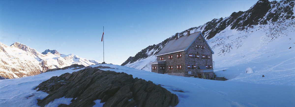 Oetztal Area Hochwilde House Mountain Hut